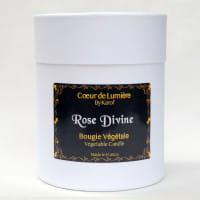 Bougie parfumée - Rose Divine