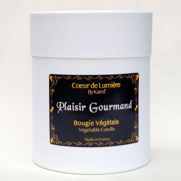 Bougie parfumée - Plaisir Gourmand