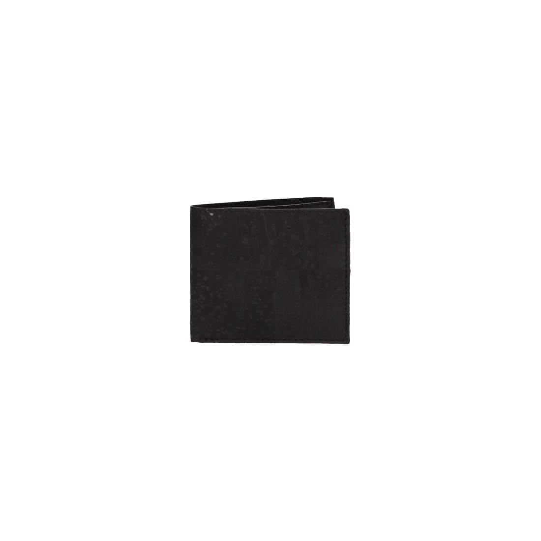 Porte carte - monnaie en liège - homme - noir