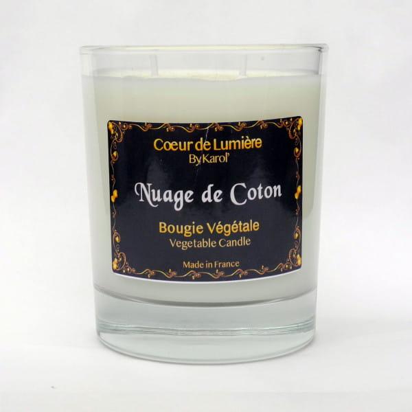 Bougie parfumée - Nuage de Coton