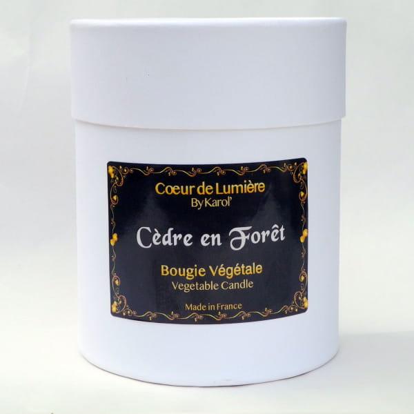 Bougie parfumée - Cèdre en Forêt